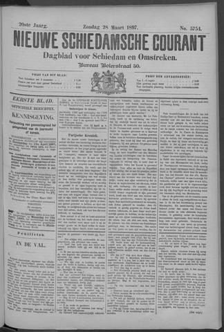 Nieuwe Schiedamsche Courant 1897-03-28