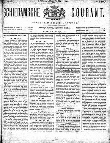 Schiedamsche Courant 1883-10-03