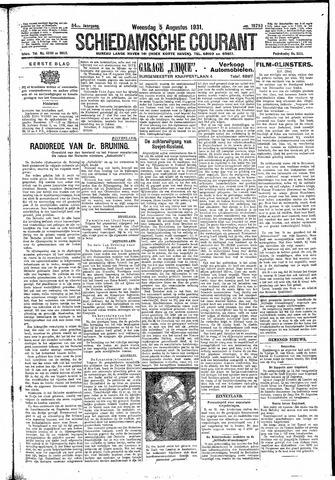 Schiedamsche Courant 1931-08-05
