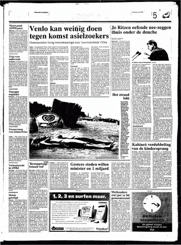 Rotterdamsch Nieuwsblad / Schiedamsche Courant / Rotterdams Dagblad / Waterweg / Algemeen Dagblad 1998-05-09
