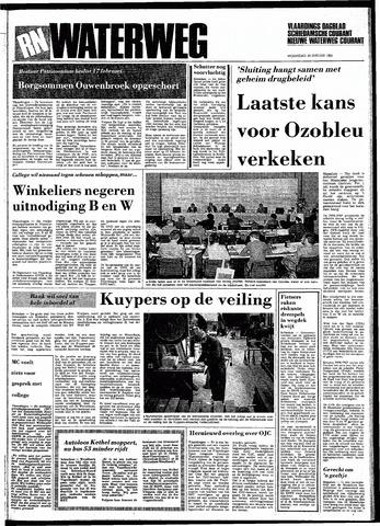 Rotterdamsch Nieuwsblad / Schiedamsche Courant / Rotterdams Dagblad / Waterweg / Algemeen Dagblad 1983-01-26