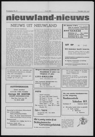 Nieuwland Nieuws 1964-07-02