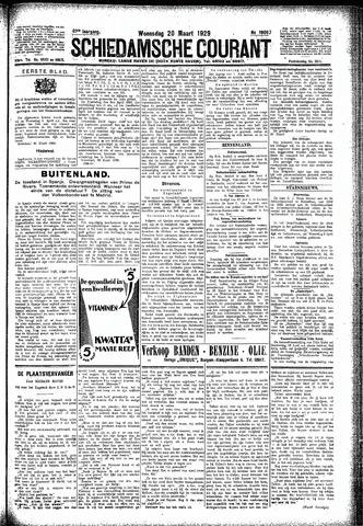 Schiedamsche Courant 1929-03-20