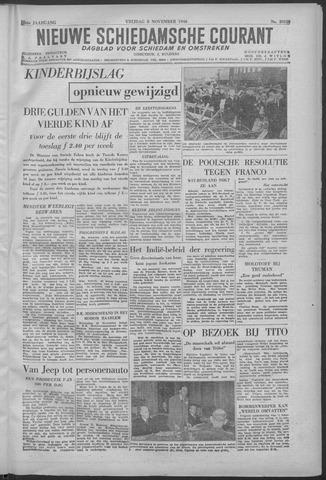 Nieuwe Schiedamsche Courant 1946-11-08