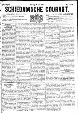 Schiedamsche Courant 1910-06-07