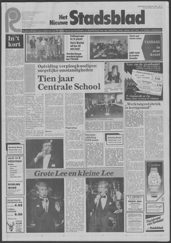 Het Nieuwe Stadsblad 1984-02-29