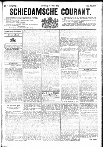 Schiedamsche Courant 1912-05-04