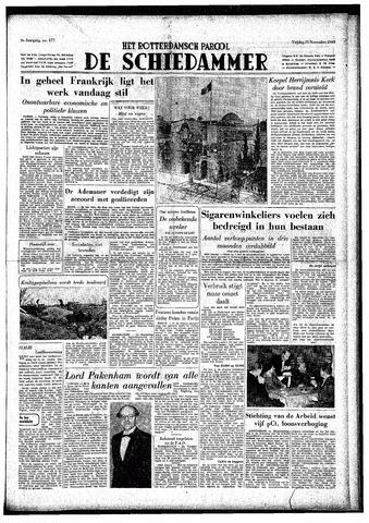 Rotterdamsch Parool / De Schiedammer 1949-11-25