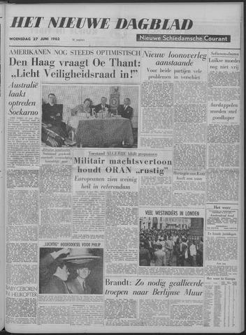 Nieuwe Schiedamsche Courant 1962-06-27