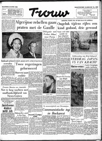 Trouw / De Rotterdammer 1960-06-20