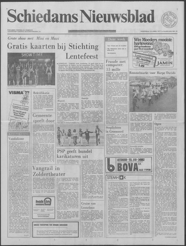 Schiedams Nieuwsblad 1977-04-20
