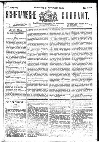 Schiedamsche Courant 1898-11-09