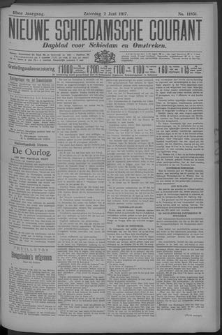 Nieuwe Schiedamsche Courant 1917-06-02