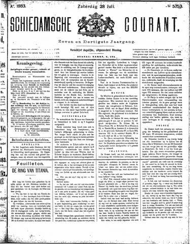 Schiedamsche Courant 1883-07-28