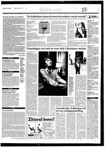 Rotterdamsch Nieuwsblad / Schiedamsche Courant / Rotterdams Dagblad / Waterweg / Algemeen Dagblad 1993-11-05