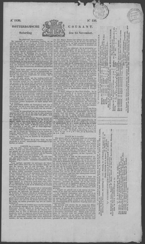 Rotterdamse Courant 1836-11-12