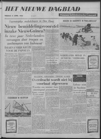 Nieuwe Schiedamsche Courant 1962-04-06