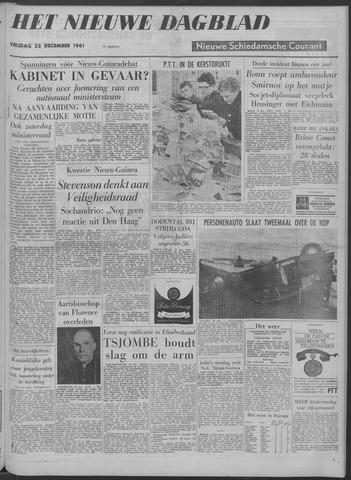Nieuwe Schiedamsche Courant 1961-12-22