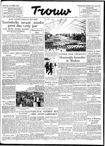 Trouw / De Rotterdammer 1955-04-12