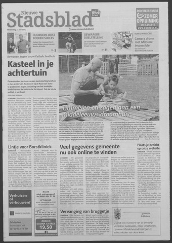 Het Nieuwe Stadsblad 2015-07-22