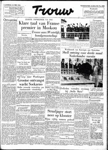 Trouw / De Rotterdammer 1956-05-16