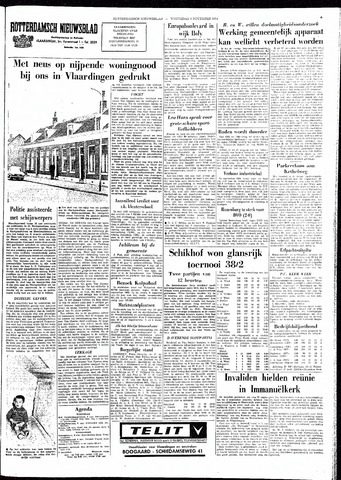 Rotterdamsch Nieuwsblad / Schiedamsche Courant / Rotterdams Dagblad / Waterweg / Algemeen Dagblad 1964-11-04
