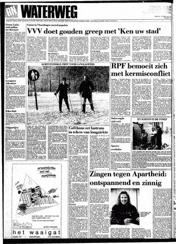Rotterdamsch Nieuwsblad / Schiedamsche Courant / Rotterdams Dagblad / Waterweg / Algemeen Dagblad 1991-02-15