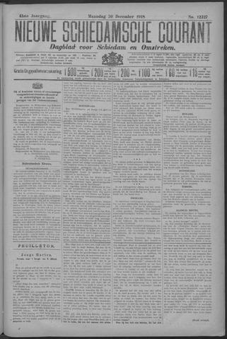 Nieuwe Schiedamsche Courant 1918-12-30