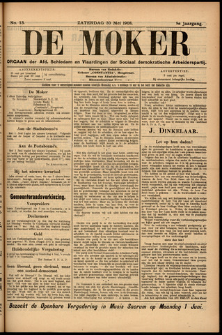 De Moker 1908-05-30