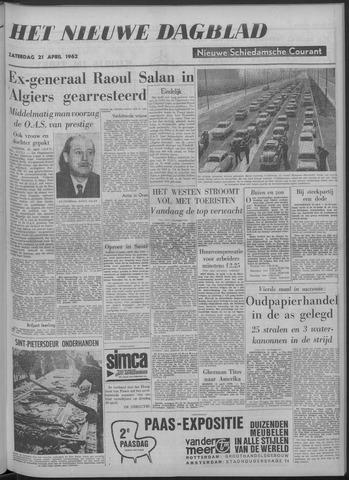 Nieuwe Schiedamsche Courant 1962-04-21