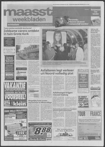 Maaspost / Maasstad / Maasstad Pers 2001-07-11