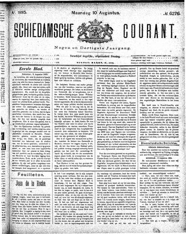 Schiedamsche Courant 1885-08-10