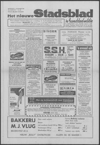 Het Nieuwe Stadsblad 1961-11-01