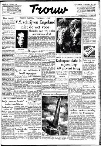 Trouw / De Rotterdammer 1957-04-02