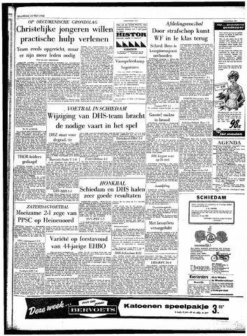 Rotterdamsch Parool / De Schiedammer 1962-05-14