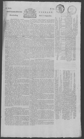 Rotterdamse Courant 1841-08-05