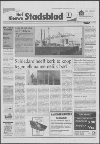 Het Nieuwe Stadsblad 2000-03-22