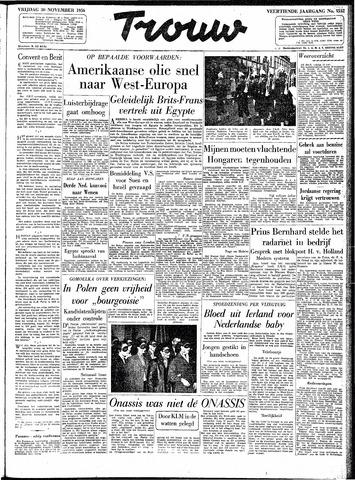 Trouw / De Rotterdammer 1956-11-30