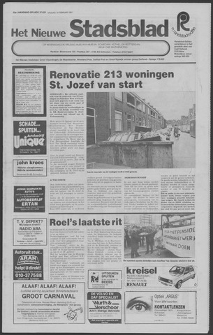 Het Nieuwe Stadsblad 1981-02-13