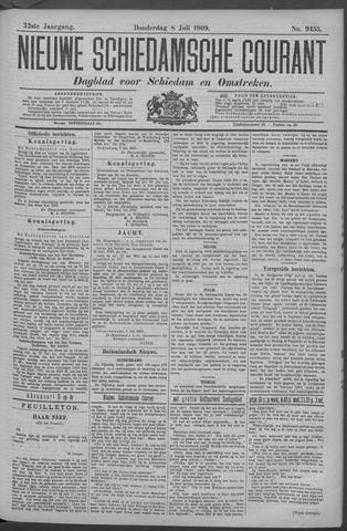 Nieuwe Schiedamsche Courant 1909-07-08