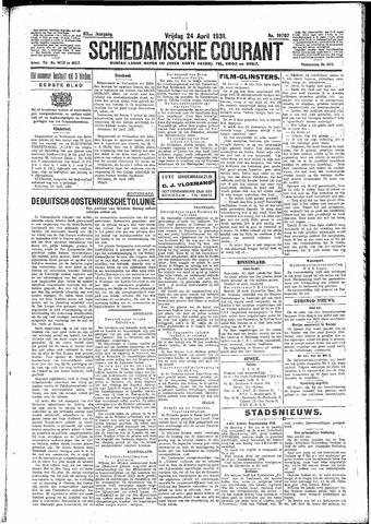 Schiedamsche Courant 1931-04-24