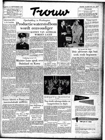 Trouw / De Rotterdammer 1953-09-25