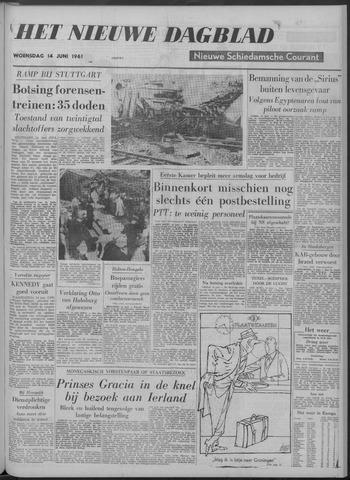 Nieuwe Schiedamsche Courant 1961-06-14