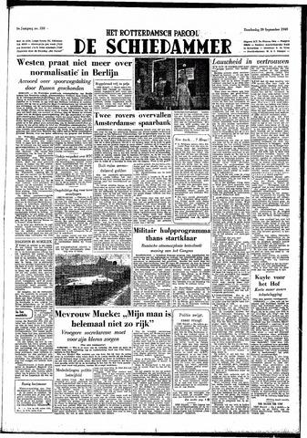 Rotterdamsch Parool / De Schiedammer 1949-09-29