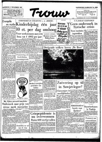 Trouw / De Rotterdammer 1957-11-02