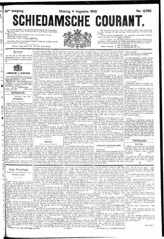 Schiedamsche Courant 1908-08-04
