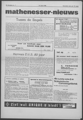 Mathenesser Nieuws 1964-03-26