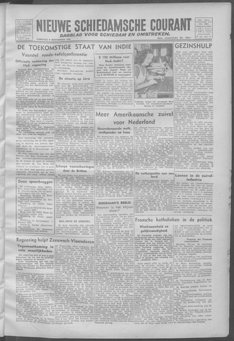 Nieuwe Schiedamsche Courant 1945-11-06