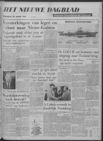 Nieuwe Schiedamsche Courant 1962-03-28