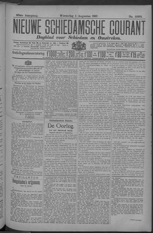 Nieuwe Schiedamsche Courant 1917-08-01